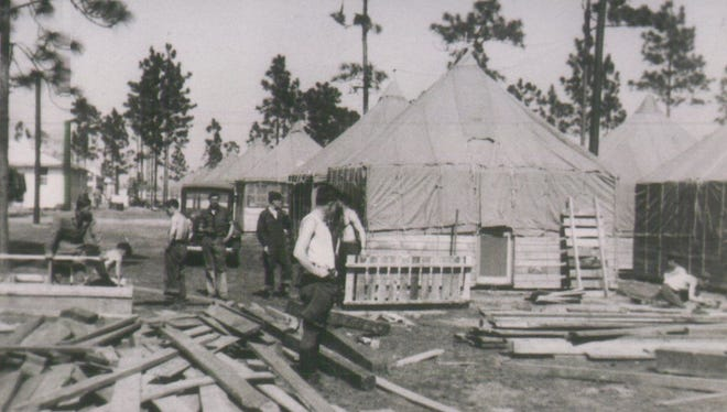 During World War II, Camp Blanding became the fourth largest city in Florida. After the war, many of the soldiers who trained there would return with their families as permanent residents of the state.