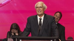 Chevy Chase was inducted into the Television Academy