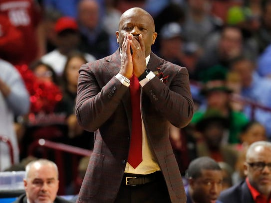 Mike Anderson is in his seventh season as Arkansas'