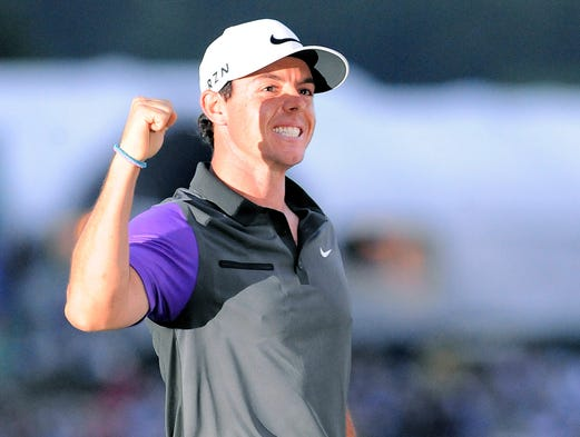 Rory McIlroy strengthened his status as the No. 1 golfer in the world by winning the PGA Championship at Valhalla Golf Club in Louisville.