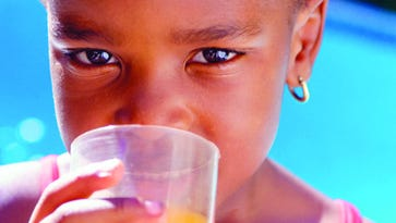Concentrated juice consumption and kids' health