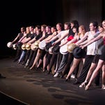 """The level of choreography is very challenging, but these actors are definitely up for it,"" said Susan Harper, managing director of Asheville Community Theatre, on the cast of ""A Chorus Line."""