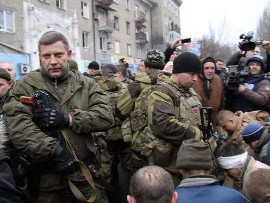 Leader of the self-declared Donetsk People's Republic
