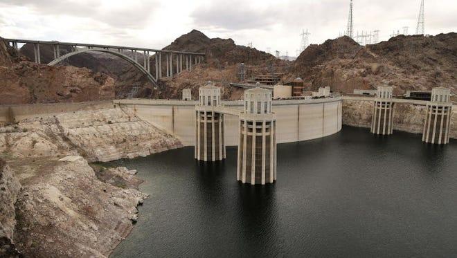 The Hoover Dam in 2013 near Boulder City, Nev.