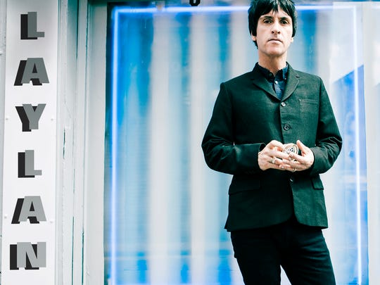"""This CD cover image released by Alternative Distribution Alliance shows """"Playland,"""" by Johnny Marr."""