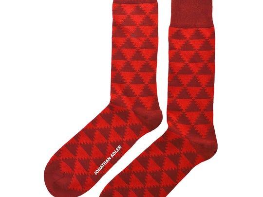 Men's Aztec socks.