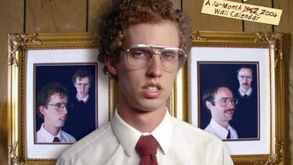 Jon Heder is tit;e character Napoleon Dynamite.