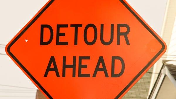 A five-day detour of a stretch of Dunlawton Avenue in Port Orange starts Saturday.