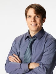 THE OFFICE -- Season 9 -- Pictured: Jake Lacy as Pete -- (Photo by: Chris Haston/NBC)