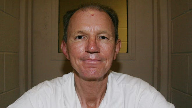 Texas prison inmate William Chance poses for a photo at the Texas Department of Criminal Justice Michael Unit on Oct 1.