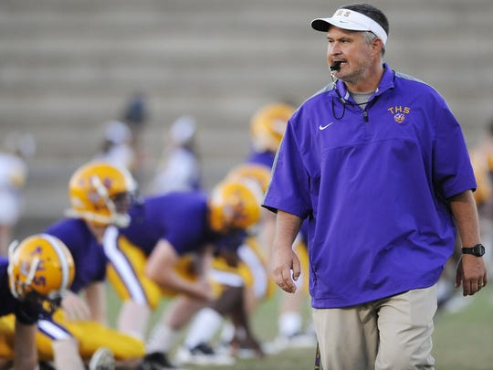 Tallassee coach Mike Battles and the Tigers are looking