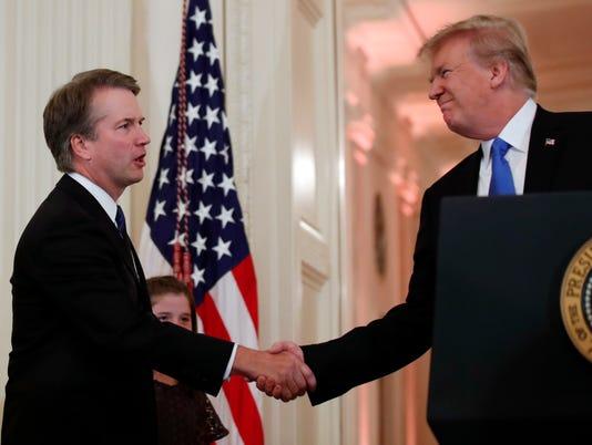 AP APTOPIX TRUMP SUPREME COURT A USA DC