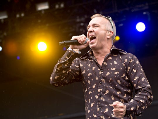 JJ Grey of JJ Grey & Mofro perform during the Forecastle Music Festival at Waterfront Park on July 18, 2014, in Louisville, Ky. (Photo by Amy Harris/Invision/AP)