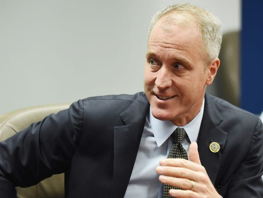 Rep. Sean Patrick Maloney speaks during an Editorial