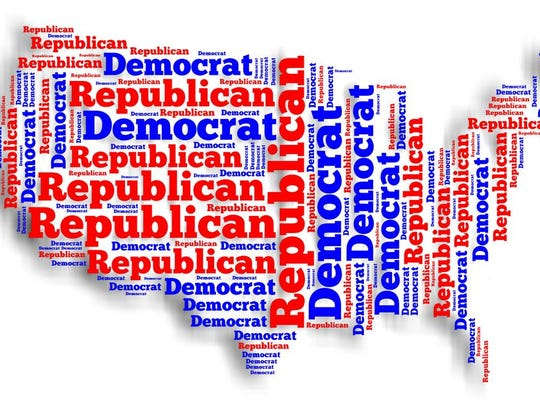 Political parties illustration