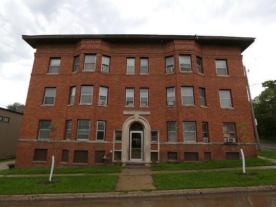 The Navarre apartment building, above, in the Sherman Hill district has not had a certificate of occupancy for around 100 days.