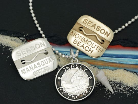 Make it beach season year-round with a sterling silver
