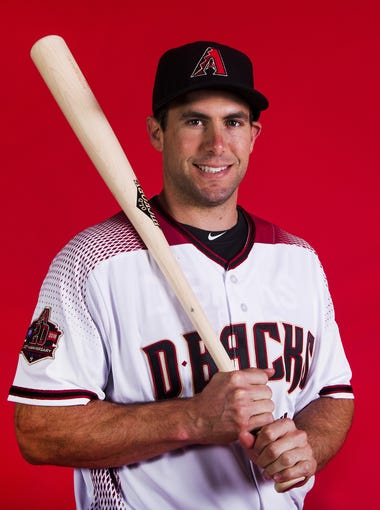 Paul Goldschmidt of the Arizona Diamondbacks poses