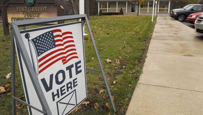 Polls are open until 8 p.m.