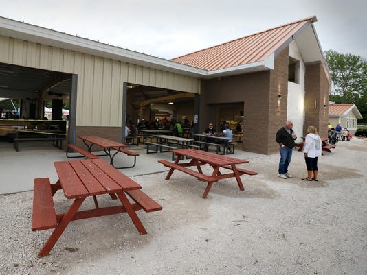 Rebuilt shelter opens in time for Okauchee Lions Days
