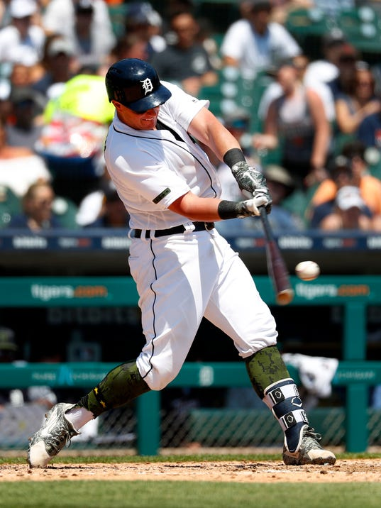 McCann's grand slam lifts Tigers to 9-3 win over Angels