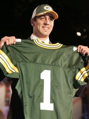 The drafting of Aaron Rodgers in 2005 helped prolong the Packers golden era.
