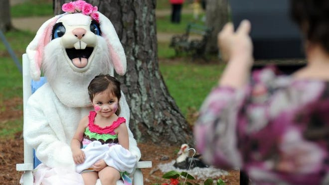 The Easter bunny is hopping all over the metro area.