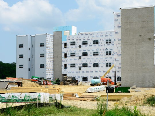 One building in The Landings at Terra Village may open