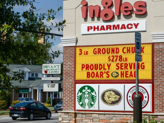 Starbucks opens inside of Ingles on North Main Street in Anderson on Wednesday.