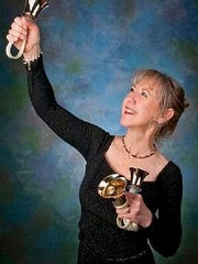 Christine Anderson, bell virtuoso, is at Marco United Church.