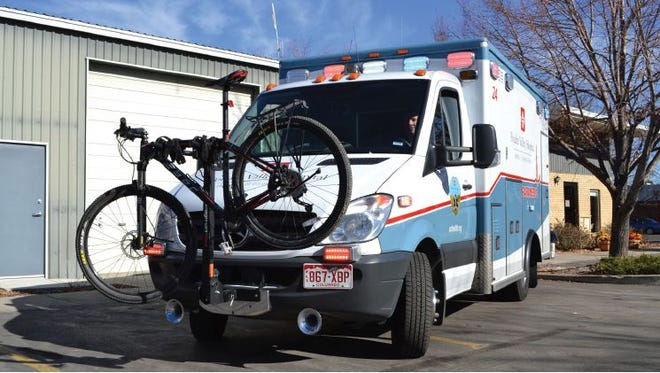 Poudre Valley Hospital's ambulances that serve Fort Collins were recently retrofitted with a new feature: bicycle racks on the front bumpers to transport bikes as their injured patientowners are driven to the hospital. The last two custom bike rack installations were completed on Nov. 20. It's just another sign that Fort Collins is one of America's most enthusiastic cycling cities.