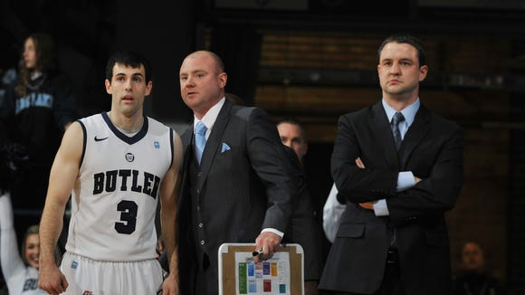 Butler appears set at the point guard position for the next three seasons: Alex Barlow this year, then Tyler Lewis the following two.