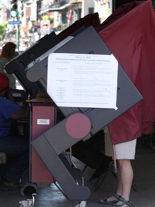 Louisiana Voters Go To The Polls In The State's Primary