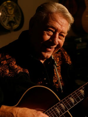 "Legendary rock and country music producer Cowboy Jack Clement, pictured here in 2006, recorded the music for a final album before his death in August 2013. ""For Once and For All"" will be released July 15 on I.R.S. Nashville."