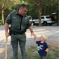 Mothers get lost on hike with young children, Rutherford deputies come to the rescue