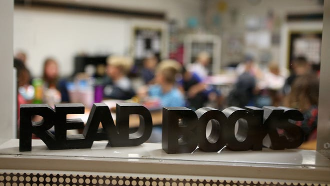 Students with a print disability, who struggle reading traditional print materials, at San Angelo ISD are introduced to Bookshare, an ebook library that offers thousands of books that can be adapted into different reading formats.