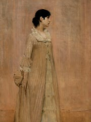 The Lady in Pink (Portrait of the Artist's Wife)