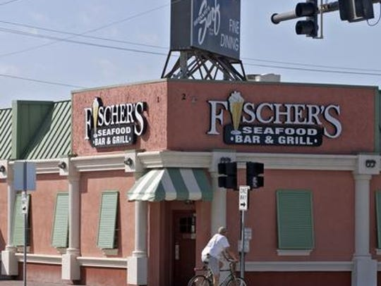 The Surf, and Fischer's Seafood Bar & Grill, at A1A