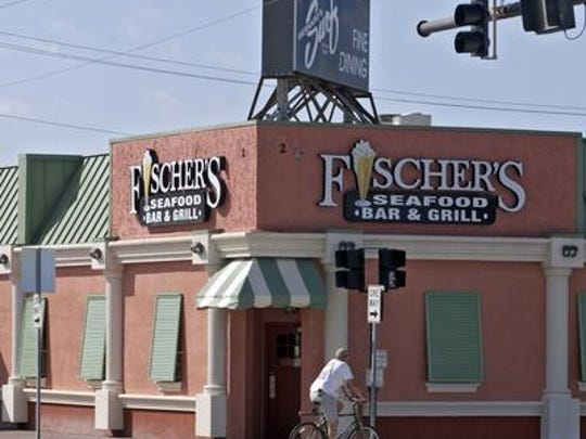 The Surf, and Fischer's Seafood Bar & Grill, at A1A and Minutemen Causeway in Cocoa Beach, was once a popular gathering place for astronauts, national media and other celebrities.