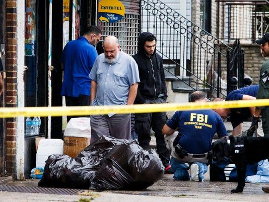 USA BOMBINGS AHMAD KHAN RAHAMI NEW YORK NEW JERSEY BOMBIGS