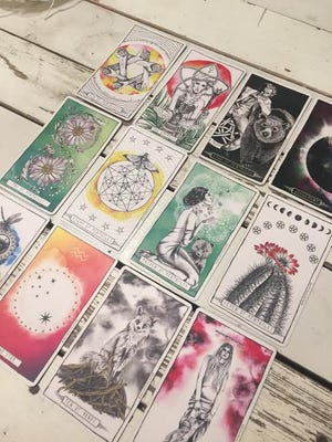 New Weekly Tarotscopes come out each Monday at 12thandbroad.com.