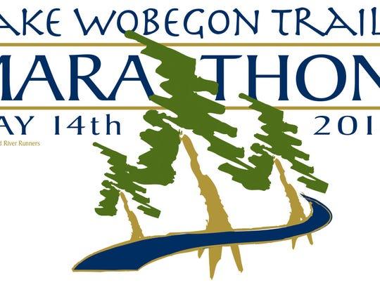 2016 Lake Wobegon Trail Marathon logo.