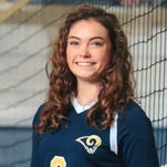 Roberson rising junior Emma Binns (3) has committed to play college volleyball for the University of Tennessee.