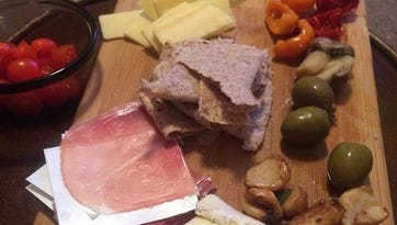 Meats, cheese and antipasto offer a great meal option