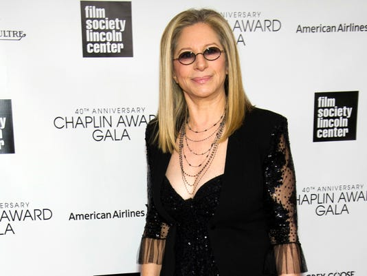 AP PEOPLE BARBRA STREISAND A ENT FILE USA NY