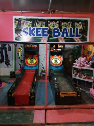 This file photo shows a game of skee ball at a previous Liberation Carnival