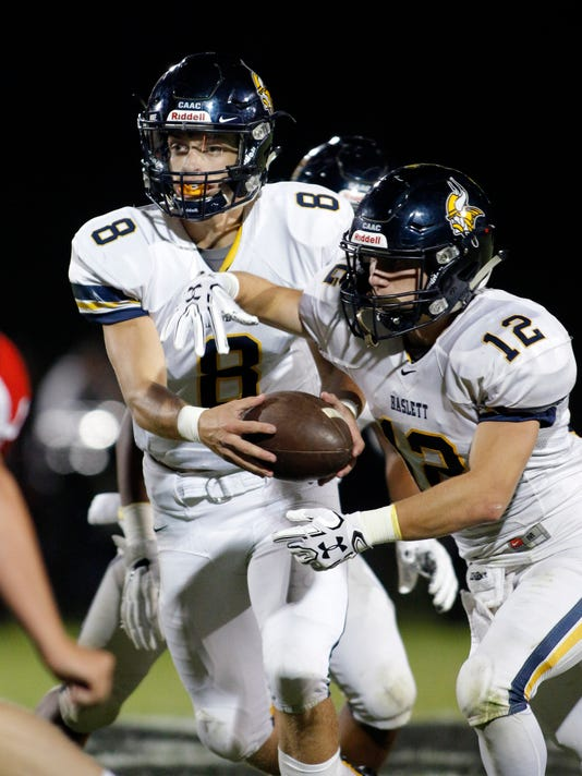 Haslett at St. Johns Football