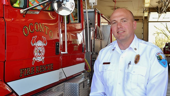 Jack Mlnarik, chief of the Oconto Fire Rescue Department for the past five years, has resigned for the same post in Oregon, WI. His last day at work in his hometown is May 29.