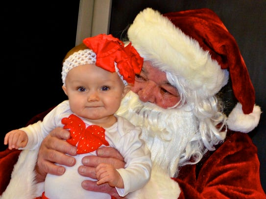 See Santa from noon to 1 p.m. Saturday at the Capitan