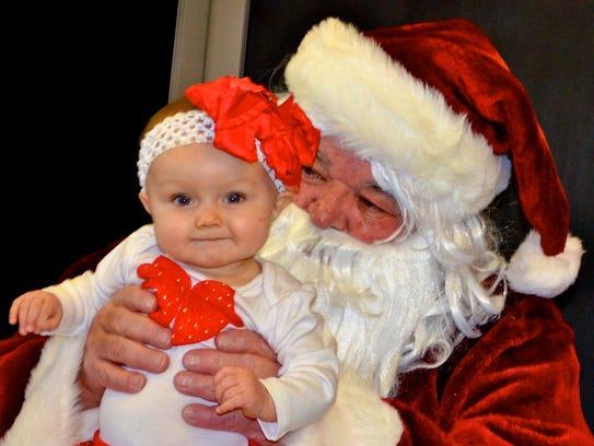See Santa from noon to 1 p.m. Saturday at the Capitan